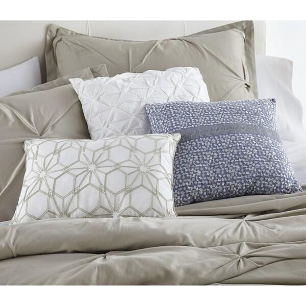 Silver Orchid Landi 3-piece Decorative Pillow Set