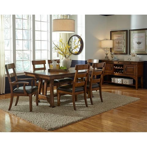 Simply Solid Kern Solid Wood 5-piece Dining Collection