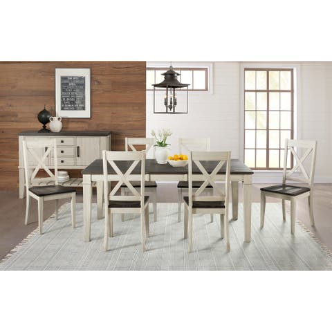 Simply Solid Cumberland Solid Wood 8-piece Dining Collection