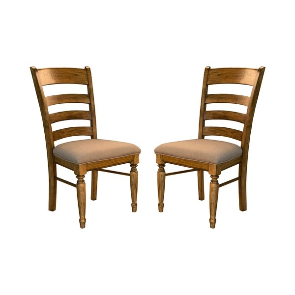 Shop Simply Solid Deschutes Solid Wood Dining Chairs (Set
