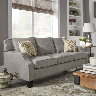 Porch & Den Dauphine Grey Tailored Track Arm Sofa