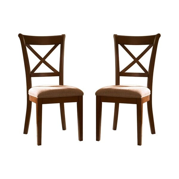 Shop Simply Solid Circa Solid Wood Dining Chairs (Set Of 2
