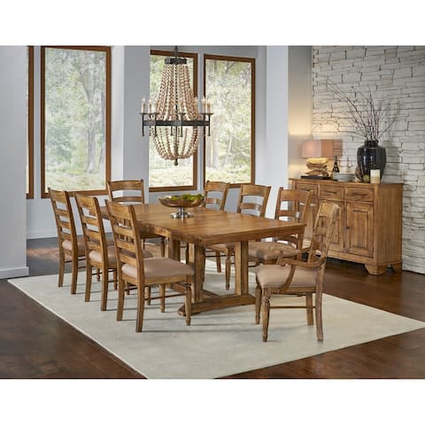 Simply Solid Deschutes Solid Wood 9-piece Dining Collection