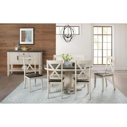 Simply Solid North Fork Solid Wood 8-piece Dining Collection
