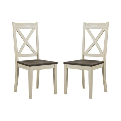 Simply Solid Cumberland Solid Wood Dining Chairs (Set of 2)