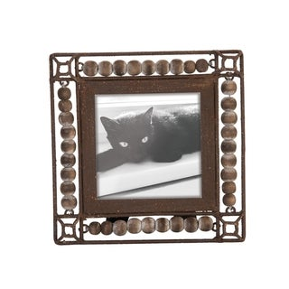 4X4 Beaded Photo Frame