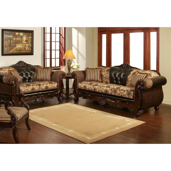 Shop 2 Piece Patron Sofa Set By Arely's Furniture Inc