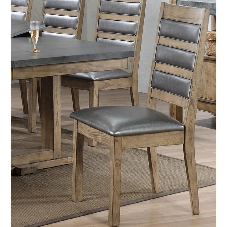 Palmer Upholstered Cushion Dining Chair Overstock 25322602