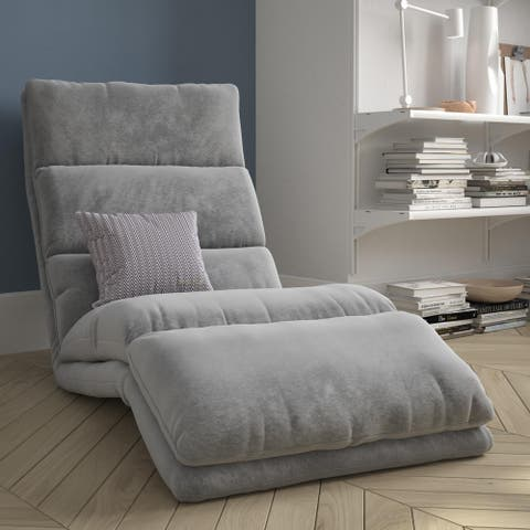 Avenue Greene Bolton Adjustable Wave Tween Lounger Floor Chair