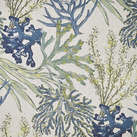 Kotter Home Coral Reef Upholstery Fabric by the Yard