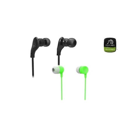 Fuji Labs AUFJ-SQWMS203/101 Sonique 2-in-1 In-Line Headphones Bundle