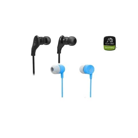 Fuji Labs AUFJ-SQWMS203/101 Sonique 2-in-1 In-Line Headphones Bundle