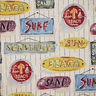 "Kotter Home Sunshine Beach Upholstery Fabric - by the yard 36""x54"""