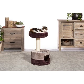 Prevue Pet Products Kitty King Plum & Gray 7302