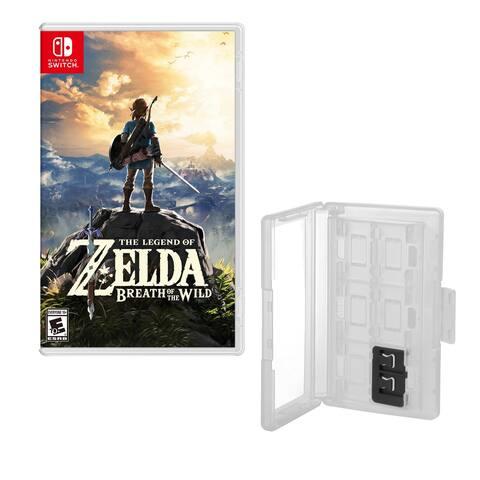 Zelda Game and Game Caddy - N/A - N/A