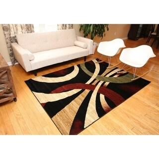 Alida Lopped Area Rug 6100 Multicolour 3' x 8' - 3' x 8'