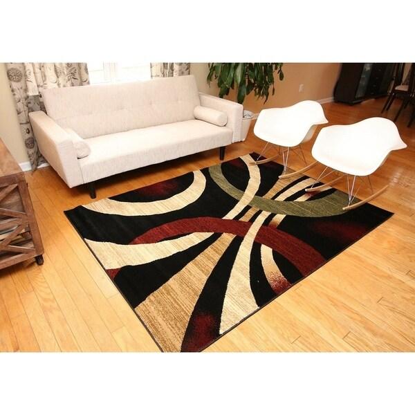 Alida Lopped Area Rug 6100 Multicolour 2' x 3' - 2' x 3'