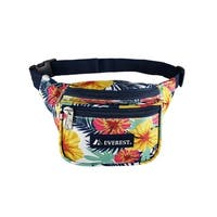 Everest Signature Tropical Pattern 11.5-inch Waist Pack