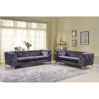 Khan 2 Piece Chesterfield Living Room Set