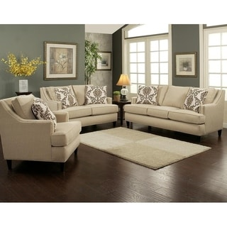 2 Piece Vogue Sofa Set By Arely's Furniture Inc.