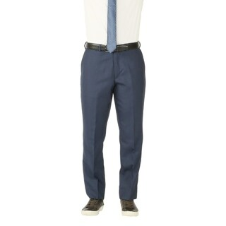 Mens Premium Wool Traveler Modern Fit Dress Pants