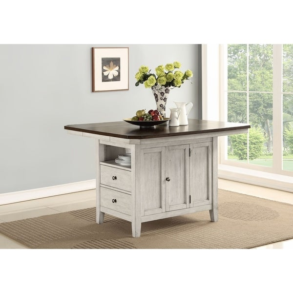 Newport Dark Acacia Kitchen Island Top - N/A