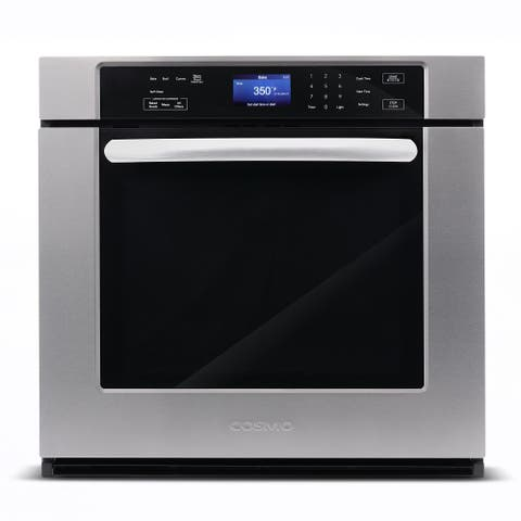 Cosmo 30 in. 5 cu. ft. Single Electric Wall Oven with True European Convection and Self-Cleaning
