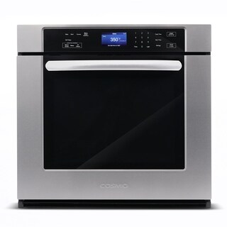 30 in. 5 cu. ft. Single Electric Wall Oven with True European Convection