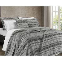 French Impression Grandelux 3 pc Chenille Coverlet Set
