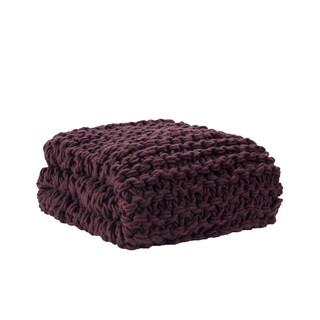 "Madison Park Chunky Knit Throw - 50x60"""