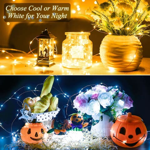 Mpow LED String Lights, Dimmable with Remote Control, 33 ft with 100 LEDs, 8 Model Control