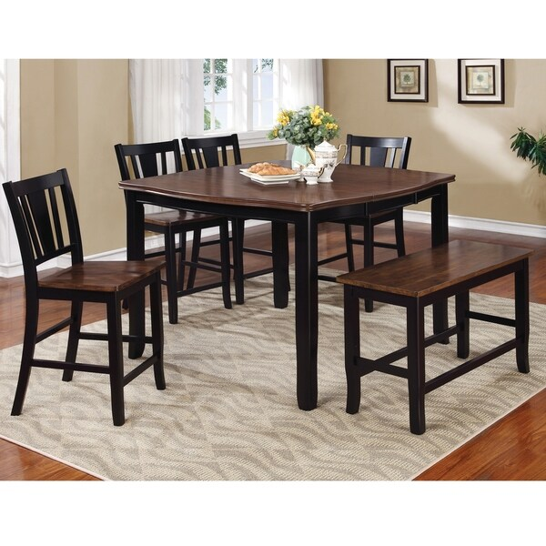 Dining Room Sets On Clearance: Shop Furniture Of America Baxton 6-Piece Dining Table Set