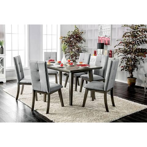 Furniture of America Jeldi 7-piece Dining Table Set