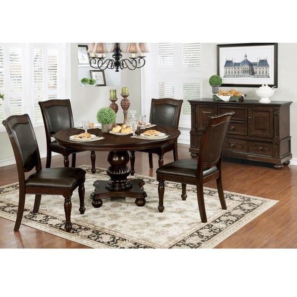 Copper Grove Balgarovo 5-piece Dining Table Set