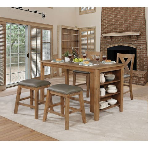 Taye 5-Piece Counter Height Table Set by FOA