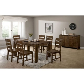 Furniture of America Tynan 7-Piece Dining Table Set