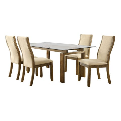 Mercury 5-piece Dining Table Set by FOA