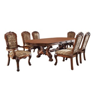 Furniture of America Rutherford 7-Piece Dining Table Set