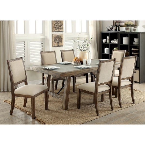 Furniture Of America Dubelle 7 Piece Formal Dining Set: Shop Carbon Loft Belinda 7-piece Dining Table Set