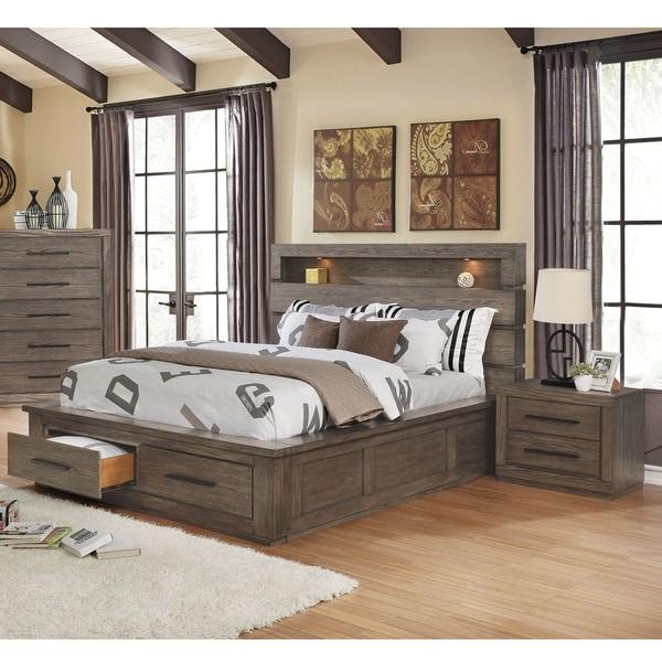 Shop Carbon Loft Beckett 3 Piece Bed And Nightstand Set