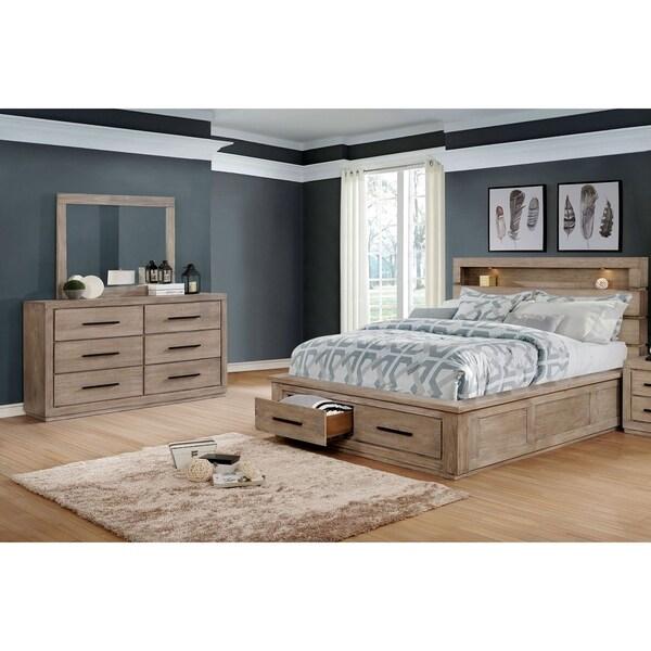 Carbon Loft Beckett 2-piece Eastern King Storage Bed Set
