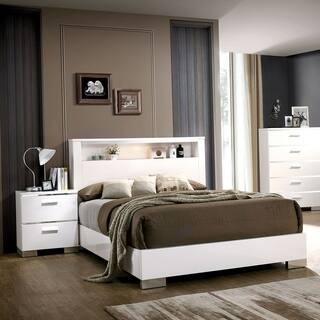 White Lacquer Wood Bedroom Sets Online At Our Best Furniture Deals