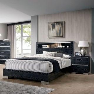 Furniture of America Elysee 2-Piece Queen Storage Bed Set