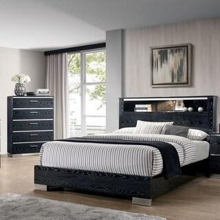 Furniture of America Elysee 2-Piece Eastern King Storage Bed Set