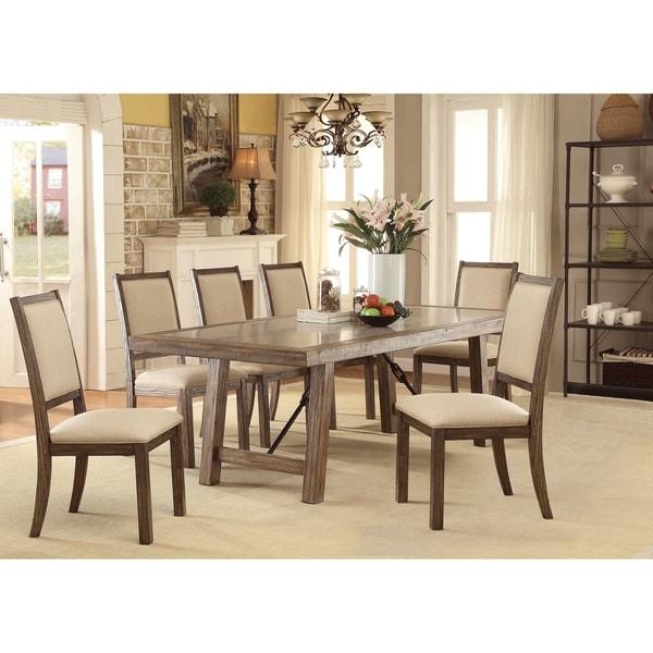 Carbon Loft Belinda 7-piece Transitional Dining Table Set