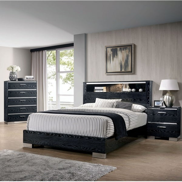 Carbon Loft Champs 3-piece Eastern King Storage Bed Set