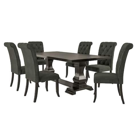 Furniture of America Kaolinovo 7-piece Dining Table Set