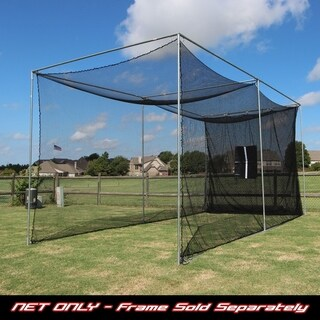 Cimarron Sports 20x10x10 Masters Golf Practice Net Only - Black