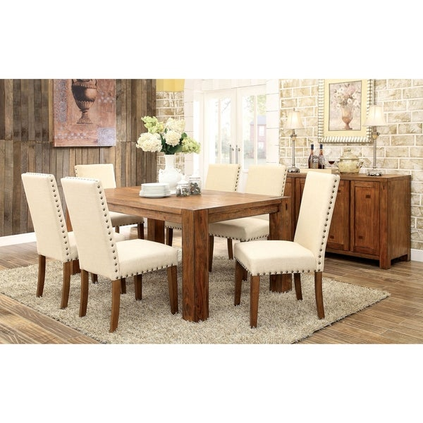 Shop Hightower 7 Piece Dining Table Set By Foa On Sale Free