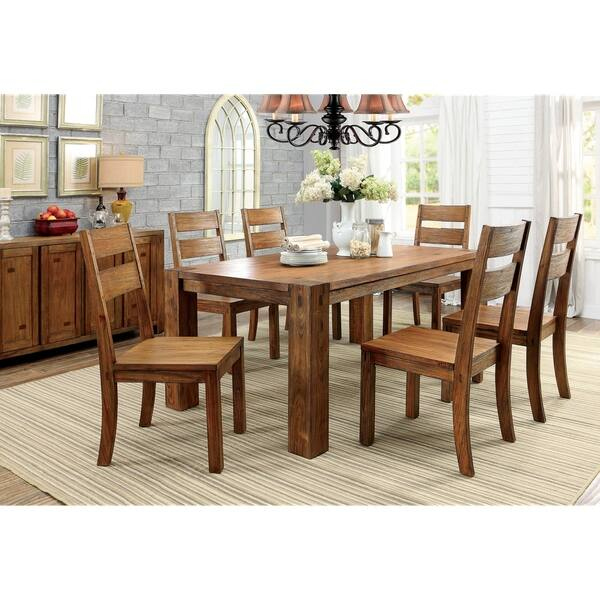 Incredible Shop Hightower 6 Piece Dining Table Set With Bench By Foa Machost Co Dining Chair Design Ideas Machostcouk